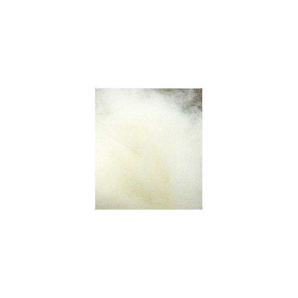 Sky av lammull fra norsk hvit sau